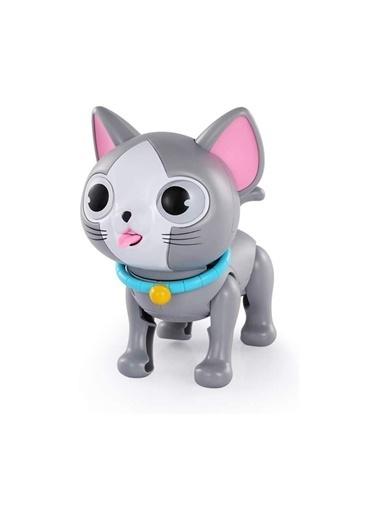 Birlik Oyuncak Birlik Oyuncak Pilli Işıklı Sesli Dokunmatik Akıllı Çocuk Kedi Oyuncağı Renkli
